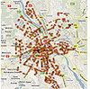 UKE opracował mapy jakości sieci komórkowych w stolicy