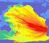 Trzęsienie Ziemi w Chile na mapach
