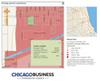 Mapa demograficzna Chicago na bazie oprogramowania ESRI