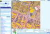 Katowice z satelity