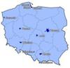 Polska na mapie firmy NAVTEQ
