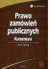 Nowa książka: Prawo zamówień publicznych. Komentarz