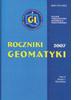 """Nowy zeszyt """"Roczników Geomatyki"""""""