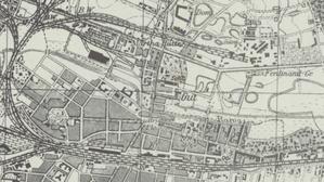 Kolejne nowości w Archiwum Map WIG <br /> Fragment arkusza Kattowitz mapy topograficznej 1:25 000 wydanej w 1941 r. przez Reichsamt für Landesaufnahme