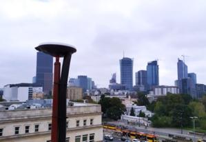 Nowe stacje w sieci RtkNet <br /> Stacja RtkNet w Warszawie (fot. Art-Geo/fb)