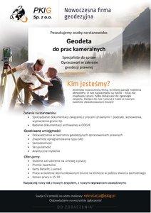 PKIG Sp. z o.o.- Praca dla geodety