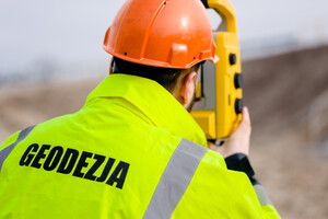 Usługi Geodezyjne DOM-PROJEKT | asystent geodety / inżynier geodeta