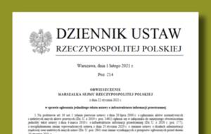 Jednolity tekst ustawy o IIP