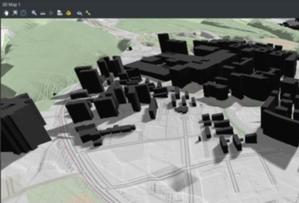 Jeszcze więcej funkcji 3D w QGIS 3.16 <br /> Renderowanie cienia dla modelu 3D