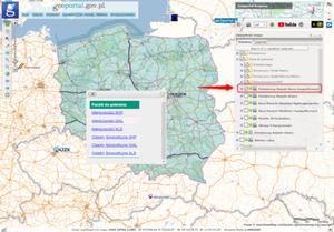 Dane PRNG do pobrania z Geoportalu