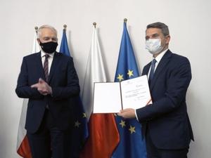 Nowy prezes GUM podpisuje porozumienie ws. finansowania Świętokrzyskiego Kampusu <br /> fot. GUM