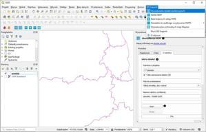 Wtyczka GIS Support ułatwi pobieranie danych EGiB w QGIS