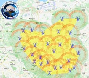RtkNet rozrasta się na południu Polski