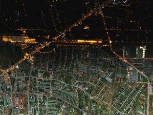 Mapa Zanieczyszczenia Światłem w ofercie MGGP Aero