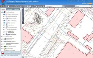 Pruszkowska geodezja mazowieckim liderem cyfryzacji <br /> Portal mapowy powiatu pruszkowskiego