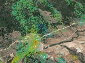 Copernicus będzie monitorować deformacje w Europie <br /> Monitoring zapory z wykorzystaniem danych Sentinel-1 (fot. ESA)