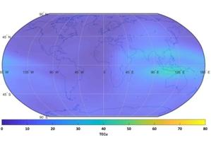Nowy serwis monitoringu jonosfery dla użytkowników GNSS