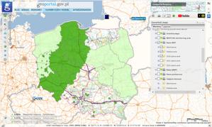 Ile danych przyjęto do zasobu w 2020 r.? <br /> Dane NMT przyjęte do zasobu w 2020 r. (mapy.geoportal.gov.pl