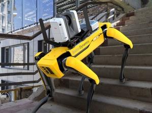 Leica Geosystems prezentuje skanującego robota