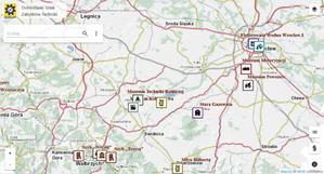 Zabytki techniki Dolnego Śląska na mapie