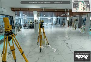 Wirtualne zwiedzanie Muzeum Geodezji WPG