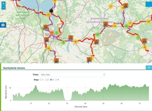 Zachodniopomorskie szlaki rowerowe na internetowej mapie