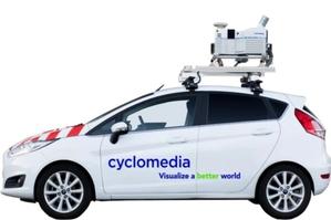 Mobilne kartowanie czeskich ulic w 3 lata <br /> fot. Cyclomedia