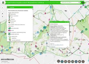 Poznawaj regionalne parki krajobrazowe w Geoportalu Województwa Łódzkiego