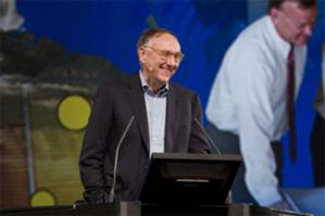Międzynarodowa konferencja użytkowników Esri ponownie on-line <br /> Jack Dangermond podczas Esri UC (fot. Wikipedia)