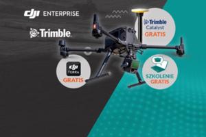 Zamów skaner LiDAR Zenmuse L1 & Matrice 300 RTK, a otrzymasz gratis: odbiornik GNSS, DJI Terra, kurs