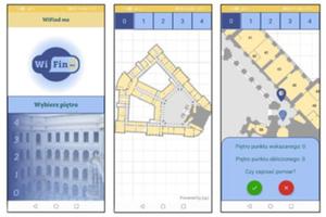 Konkurs IEEE w zakresie geonauk i teledetekcji na PW rozstrzygnięty <br /> Aplikacja WiFind Me w trybie testowym