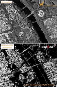 Capella Space udostępnia pierwsze zobrazowania Polski <br /> Zobrazowanie Capella Space dla centrum Warszawy