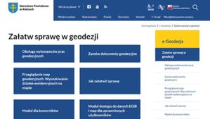 Portal e-Geodezja powiatu kieleckiego już działa