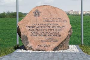 Łomżyńscy geodeci będą świętować 100-lecie