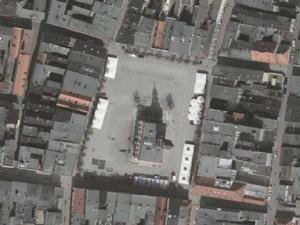 Leszno: rusza rozbudowa systemu PZGiK i pozyskanie danych 3D <br /> Leszno na ortofotomapie (Geoportal.gov.pl)