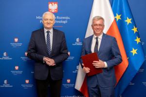 Prof. Bosy członkiem Rady ds. Planu dla Pracy i Rozwoju <br /> Wicepremier Jarosław Gowin i prof. Jarosław Bosy