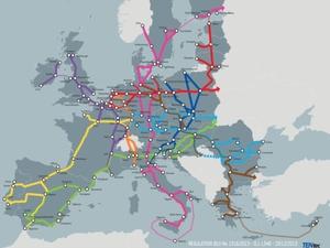 Resort infrastruktury przymierza się do budowy transportowego GIS-u <br /> Sieć TEN-T (fot. KE)