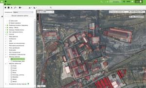 Śląskie samorządy zamawiają geodezyjne e-usługi <br /> Obecny portal mapowy Dąbrowy Górniczej