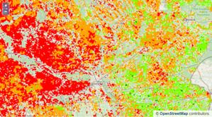 Serwis mapowy dotyczący suszy rolniczej 2021