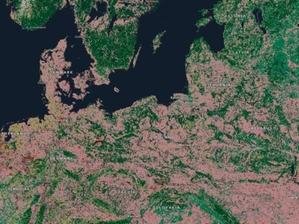 Świat za 30 lat na mapie Esri <br /> Mapa pokrycia w roku 2050