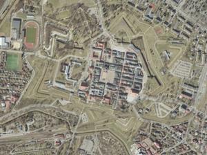Nowe ortofotomapy miast w PZGiK i Geoportalu <br /> Zamość na nowej ortofotomapie