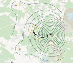 Geodezyjny system monitoringu szkód górniczych na ukończeniu