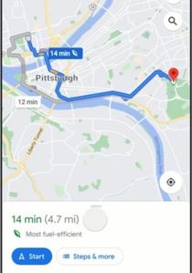 Poruszaj się bardziej eko z Mapami Google <br /> Wyznaczanie ekologicznej trasy