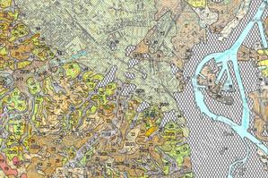 Nowe arkusze Szczegółowej Mapy Geologicznej Polski w internecie <br /> Fragment arkusza 27 SMGP