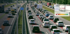 HERE prezentuje jeszcze bardziej szczegółowe dane o ruchu drogowym