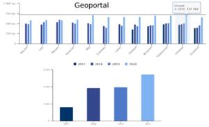 GUGiK podaje statystyki za 2020