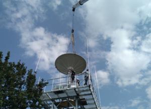 Sentinel w zasięgu ręki <br /> Instalacja nowoczesnej stacji do odbioru i przetwarzania danych Sentinel-1 uruchomionej na terenie krakowskiego oddziału IMGW-PIB