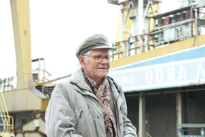 Ten, co statki budował <br /> Prof. Julian Niebylski (fot. Jerzy Przywara)