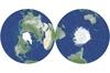 Nowy pomysł na mapę świata z niewielkimi zniekształceniami