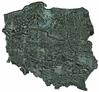GUGiK prezentuje nową mozaikę zdjęć satelitarnych Sentinel